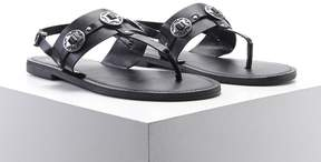 Forever 21 Faux Leather Star Sandals