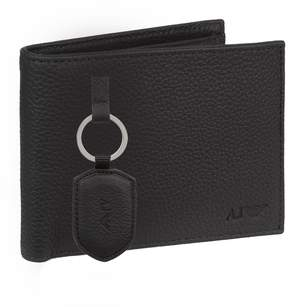 Armani Jeans Keyring and Wallet Gift Set