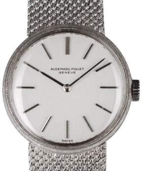 Audemars Piguet 18K White Gold 20mm Womens Watch