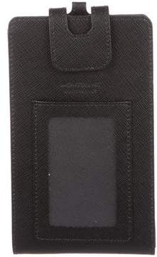 Montblanc Leather ID Phone Holder w/ Tags