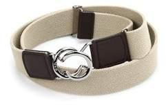 Tod's Men's Beige Fabric Belt.