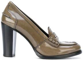 Church's heeled loafer pumps