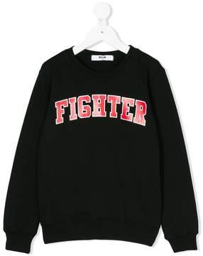 MSGM Fighter sweatshirt