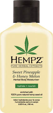 Hempz Travel Size Sweet Pineapple & Honey Melon Moisturizer