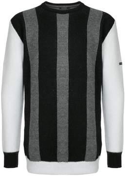 GUILD PRIME striped sleeveless sweater