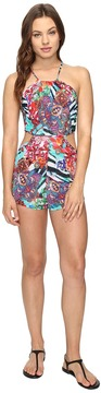 Luli Fama Like a Flame Firefly Romper Women's Jumpsuit & Rompers One Piece