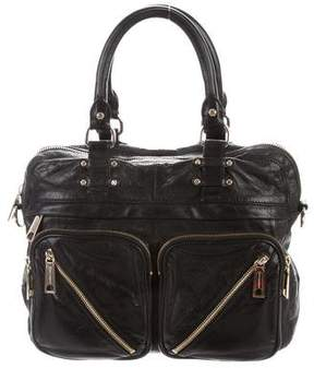 Rebecca Minkoff Paramour Leather Satchel - BLACK - STYLE