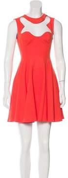 Alice McCall Cutout-Accented Mini Dress