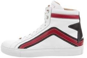Belstaff Dillon High-Top Sneakers