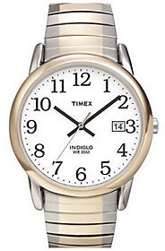 Timex Men's Easy Reader Two-Tone Expansion BandWatch