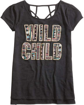 Epic Threads Wild Child Graphic-Print T-Shirt, Big Girls, Created for Macy's
