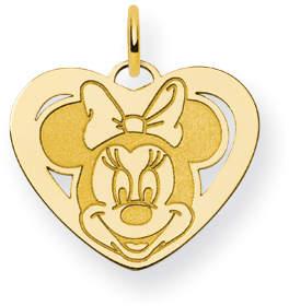 Disney Gold-plated SS Minnie Heart Charm