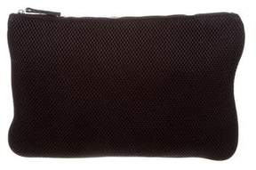 Maje Perforated Zip Pouch