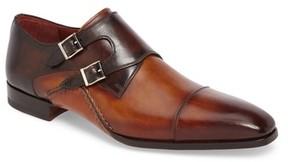 Magnanni Men's Ondara Double Monk Strap Shoe