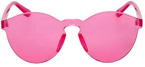 Betsey Johnson Futurist Fuchsia Sunglasses