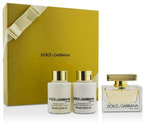 Dolce & Gabbana The One Coffret: Eau De Parfum Spray 75ml/2.5oz + Body Lotion 100ml/3.3oz + Shower Gel 100ml/3.3oz