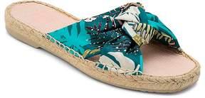 Dolce Vita Women's Single Knot Espadrille Slide Sandals