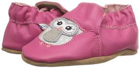Robeez Owl Playmates Soft Sole Girls Shoes
