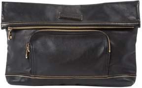 Longchamp Leather clutch bag - BLACK - STYLE