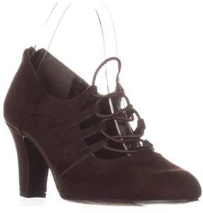 Easy Street Shoes Jennifer Oxford Pumps, Brown.