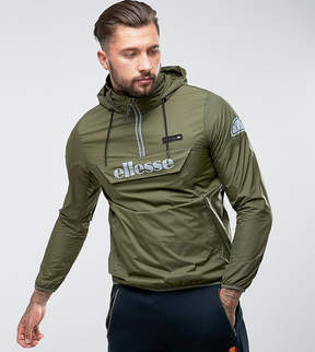 Ellesse Overhead Jacket With Reflective Logo In Green