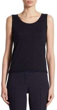 Akris Punto Wool Shell Tank Top