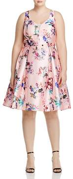 City Chic Posey Floral Dress - 100% Exclusive
