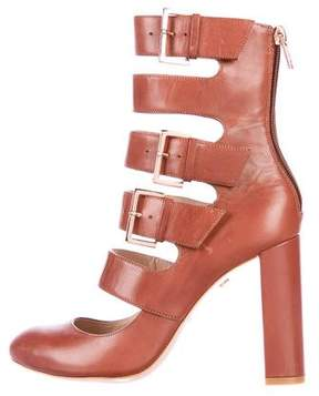Ruthie Davis Multistrap Leather Booties