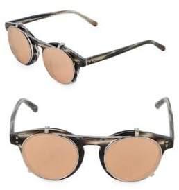 Linda Farrow 47MM Round Sunglasses