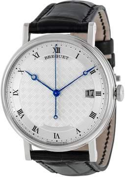 Breguet Classique Silver Dial 18kt White Gold Men's Watch