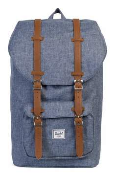 Herschel Men's Little America Crosshatch Backpack - Blue