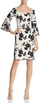 Adelyn Rae Jillian Off-the-Shoulder Lace Dress