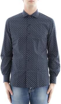 Orian Blue Cotton Shirt
