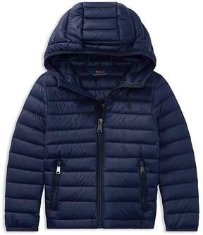 Ralph Lauren Childrenswear Boys' Fleece Hybrid Jacket- Little Kid