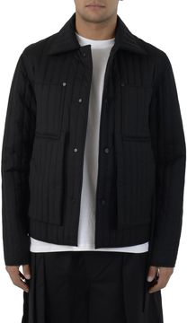 Craig Green Black Wool Quilted Jacket