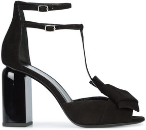 Pierre Hardy knot detail T-bar heeled sandals
