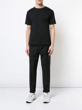 Public School Mesh layered t-shirt