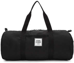 Opening Ceremony Black Logo Duffle Bag