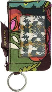 Vera Bradley Zip ID Case Wallet - AUTUMN LEAVES - STYLE