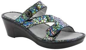 Alegria Loti Wedge Slide Sandals