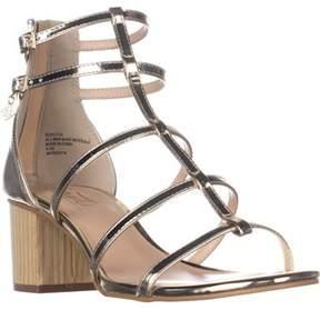 Nanette Lepore Nanette Rebecca Gladiator Dress Sandals, Gold.