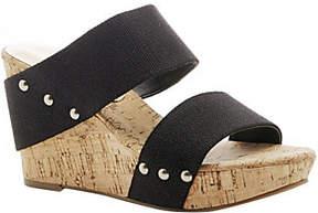 Sole Society Platform Wedge Sandals - Emillia