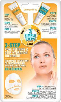 Dermactin-TS 3 Step Pore Refining Hydration Treatment