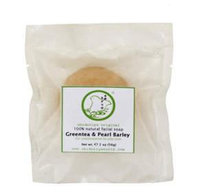 Green Tea and Pearl Barley Soap by Chidoriya (2oz Soap Bar)