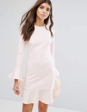 Club L Frill Detail Dress