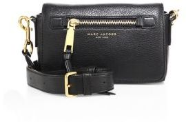 Marc Jacobs Recruit Leather Crossbody Bag