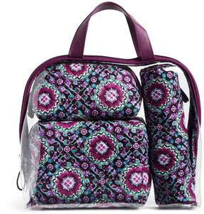 Vera Bradley Iconic 4 Pc. Cosmetic Set
