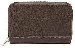 Longchamp VF Leather 3612 Coin Wallet - MOKA - STYLE