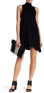 Clayton Amanda Mock Neck Dress