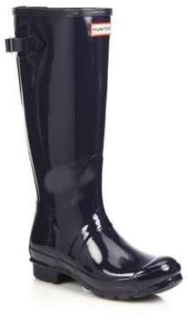 Hunter Back-Adjustable Gloss Rain Boots